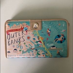 Spartina Outer Banks snap wallet